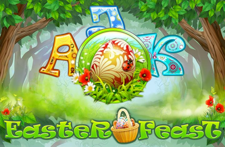 Easter Feast video slot machine screenshot