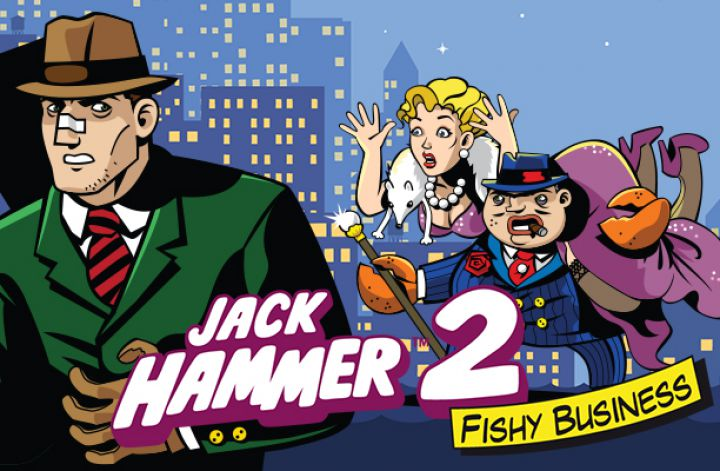 Jack Hammer 2 video slot machine screenshot