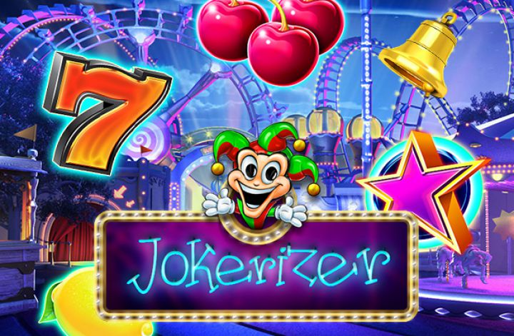 Jokerizer video slot machine screenshot