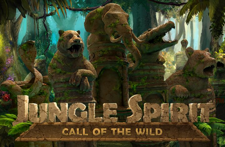 Jungle Spirit: Call of the Wild slot machine screenshot