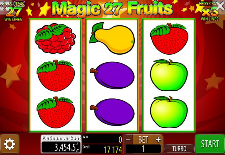 Magic Fruits 27 video slot game screenshot