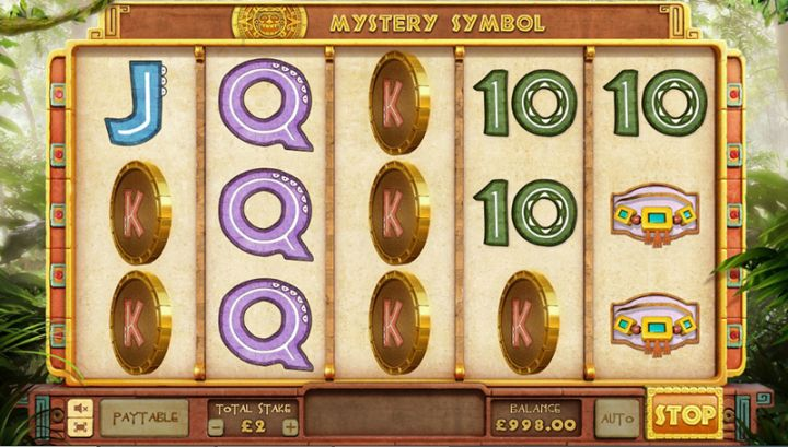 Mayan Mystery slot game screenshot