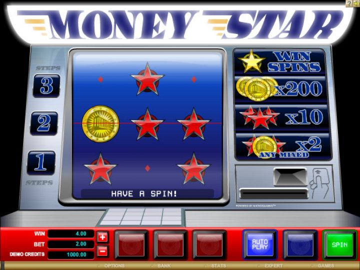 Money Star slot game screenshot