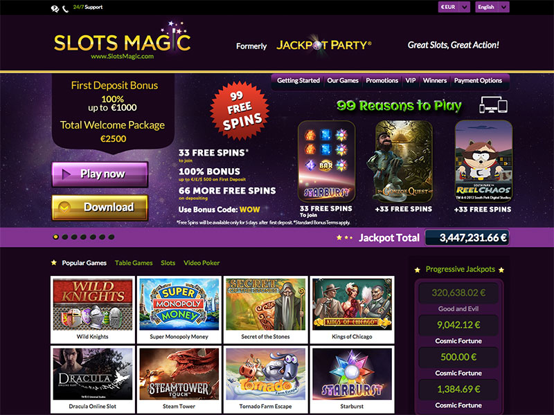 Slots Magic Casino image